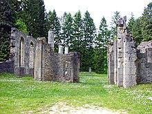 Ornes, village détruit près de Verdun