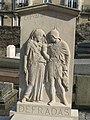 Orpheus & Eurydice reliefs on a grave of the Saint-Vincent cemetery.jpg