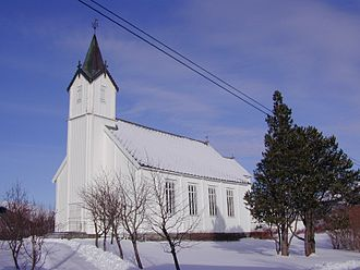 Osen Church - View of the church