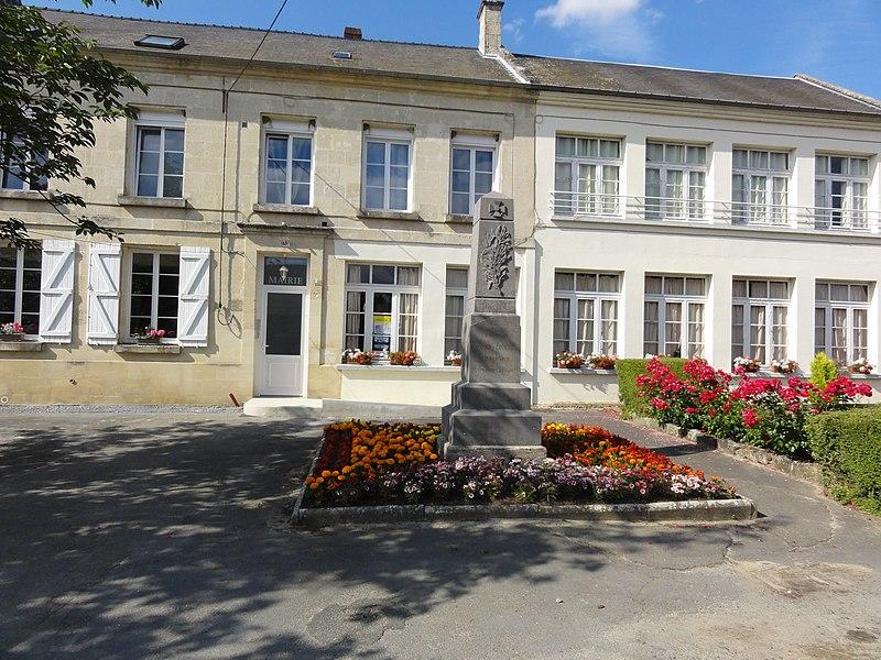 Osly-Courtil (Aisne) mairie