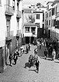 Ossenkar in een straat op het eiland Madeira, Bestanddeelnr 252-1257.jpg