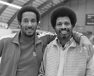 John Reeberg - Otti Roethof and John Reeberg in 1980
