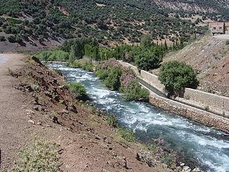 Oum Er-Rbia River - The Oum Er-Rbia river.