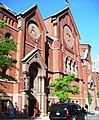 Our Lady of the Scapular-St. Stephen 29th Street facade from east.jpg