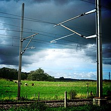 damaged phone cable wiring overhead line wikipedia  overhead line wikipedia