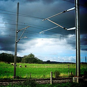 Overhead line - Overhead lines on Swiss Federal Railways