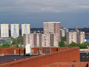 Burmantofts - Looking over Burmantofts from the West.