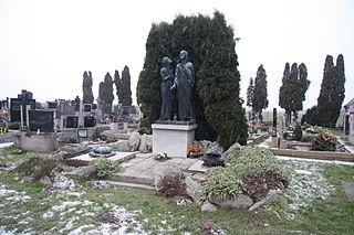 Náhrobek Josefa Ošmery