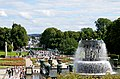 Overview of the Park Seen from the Plateau. - Vigeland Park, Oslo.jpg