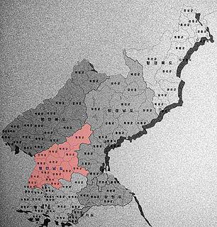 South Pyeongan Province (Republic of Korea) Province in Republic of Korea (claimed)