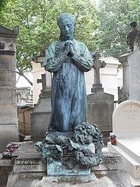 Père-Lachaise, A prayer (10146582946).jpg