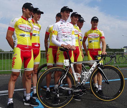 Péronnes-lez-Antoing (Antoing) - Tour de Wallonie, étape 2, 27 juillet 2014, départ (C011).JPG