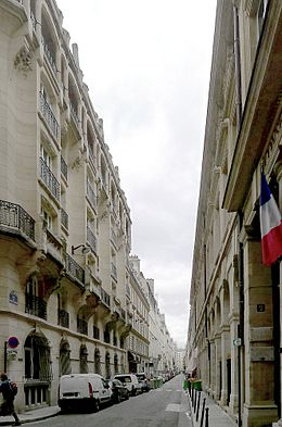 Image illustrative de l'article Rue de Montpensier