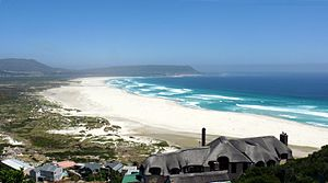 Noordhoek, Cape Town - Image: P1060465 Long Beach, Noordhoek