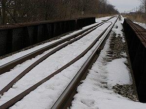 Hoosier Valley Railroad Museum - Image: P2240256 RR at Kankakee