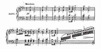 "Le roi malgré lui - The opening bars Le roi malgré lui, which according to Ravel ""changed the course of French harmony"""