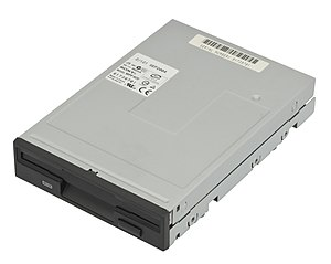 Drive bay - A 3.5-inch floppy drive