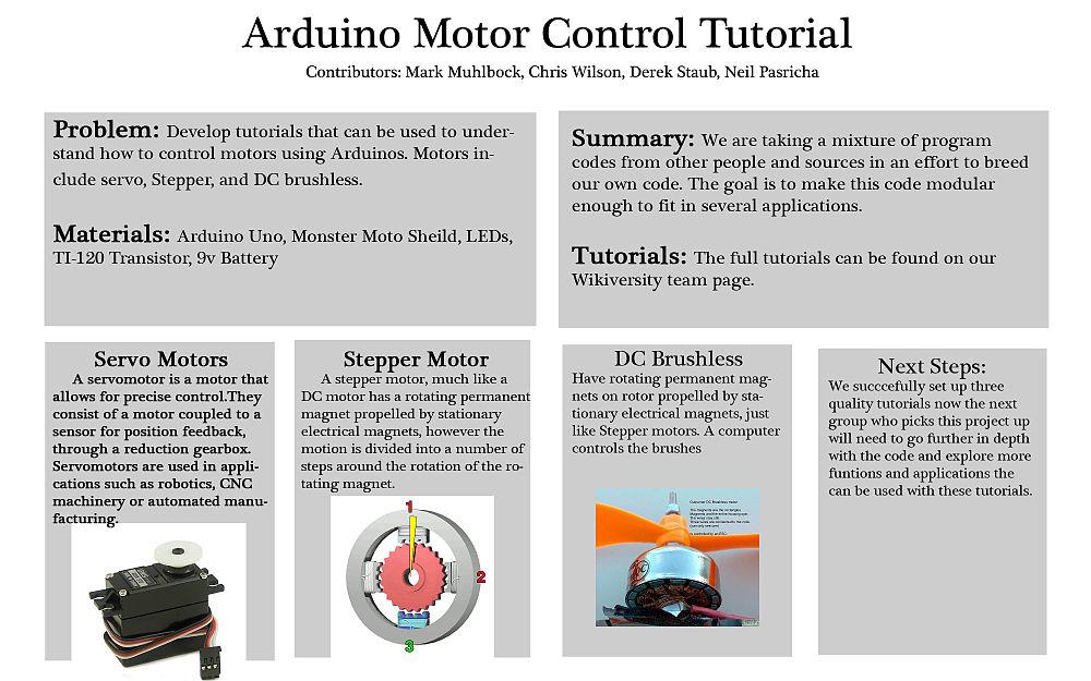 Arduino Motor Control/Howard Community College/Fall2012/P2-501-CDMN ...