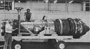 Pratt & Whitney F100 - An F401 engine for Rockwell XFV-12 prototype supersonic VTOL fighter