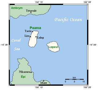 Island in Malampa Province, Vanuatu