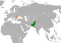 Pakistan Romania Locator.png