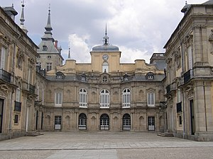 Real Sitio de San Ildefonso - Royal Palace of La Granja.