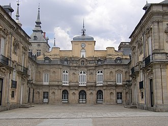 First Treaty of San Ildefonso - Palacio La Granja, where the Treaty was signed