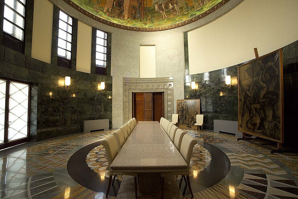 Palazzo delle colonne, interno 06