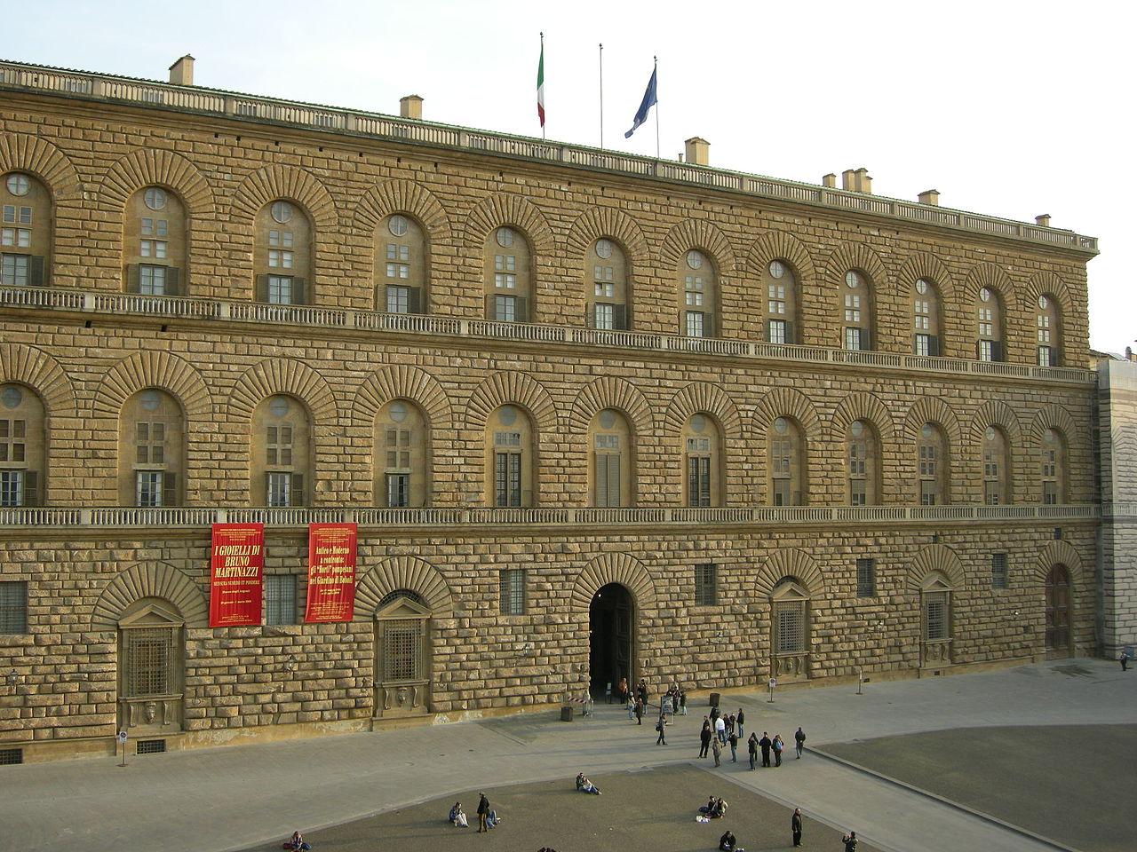 File palazzo pitti facciata 02 jpg wikimedia commons for Palazzo pitti