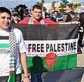 Palestine Gaza Protester at Anaheim, Ca 1 4 09.jpg