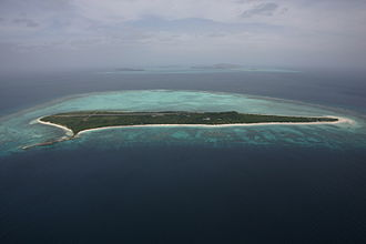 Cuyo Archipelago - Image: Pamalican Airview 2