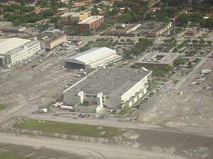 Pan Am International Flight Academy - Bird's eye view of flight school