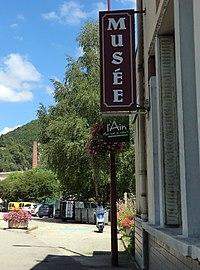 Panneau du musée de Saint-Rambert-en-Bugey.JPG