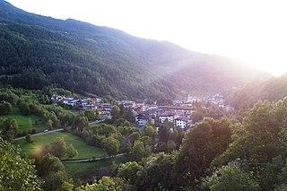Corteno Golgi Village in Lombardy, Italy