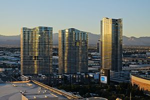 Panorama Towers - Panorama Towers at sunset