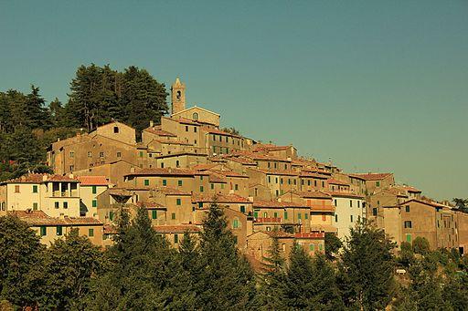 Panorama di Gerfalco