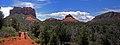Panorama of hikers along Bell Rock Pathway (3909882477).jpg