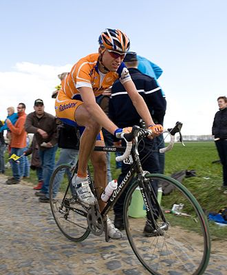 Classic cycle races - Joost Posthuma rides the 2008 Paris-Roubaix, one of the classic cycle races.