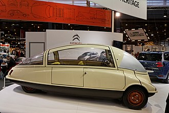 Citroën GS - 1956 C10 Prototype