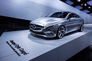 Mercedes-Benz CLA-Class - Concept Style Coupé at 2012 Paris Auto Show.