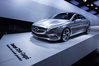 Mercedes-Benz CLA-Class - Concept Style Coupé at the 2012 Paris Auto Show.