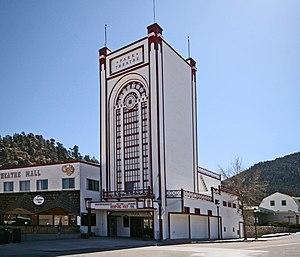 Park Theatre (Estes Park, Colorado) - Image: Park Theatre Estes Park CO