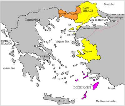 Partition Of The Ottoman Empire Wikiwand - Greece in the treaty of sevres