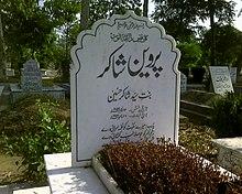 Parveen Shakir - Wikipedia