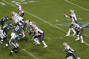 Tom Brady takes the snap during Super Bowl XXX...