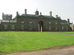 Patshull Hall - Triumphal Entry to Forecourt, Patshull Hall - Burnhill Green, Nr Pattingham.
