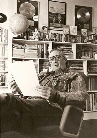 Paul Barrett - Paul 'Legs' Barrett in his office