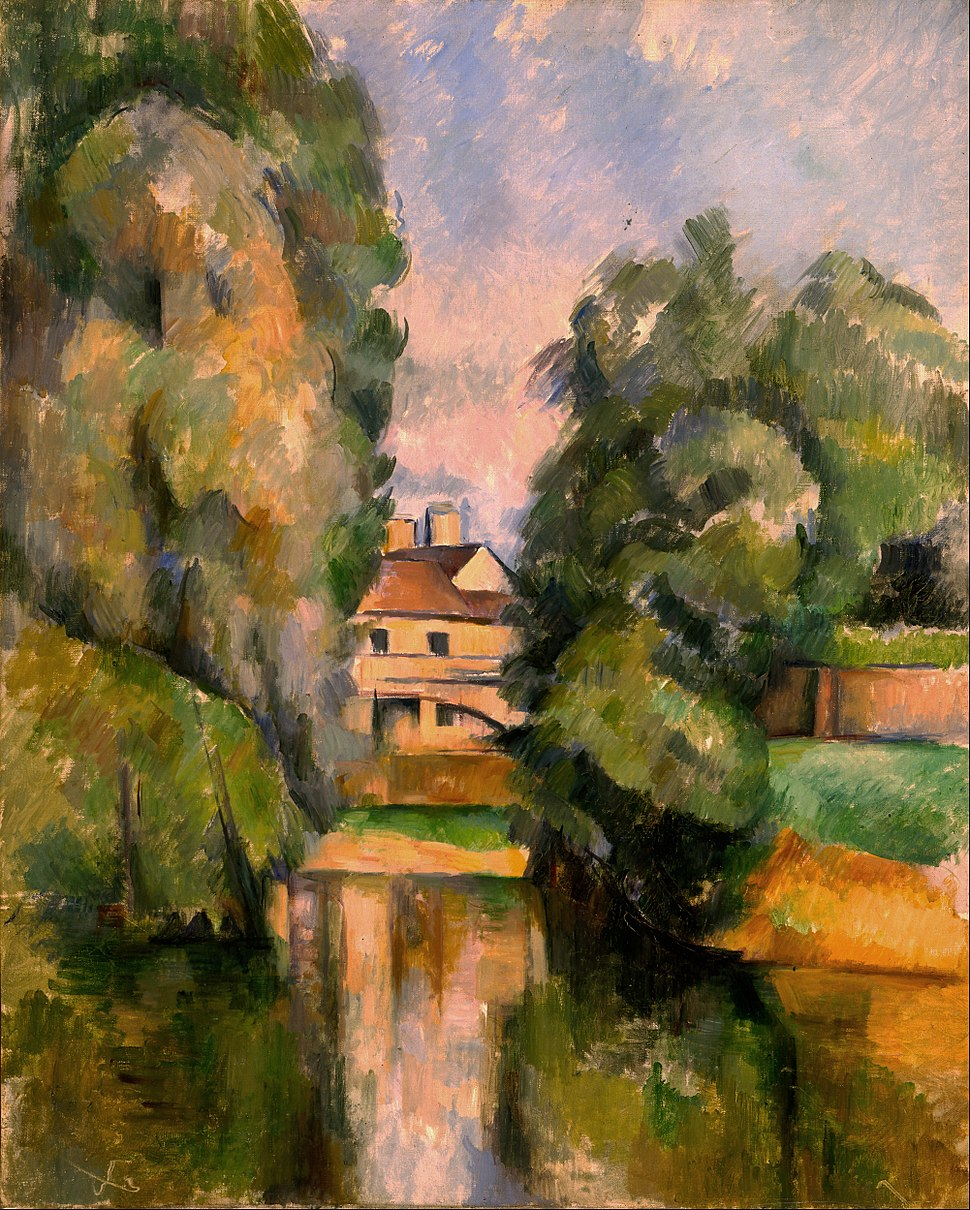 Paul Cézanne - Country House by a River - Google Art Project