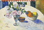 Paul Gauguin - Flowers and a Bowl of Fruit on a Table - Google Art Project.jpg