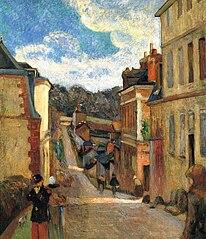 Rue Jouvenet in Rouen